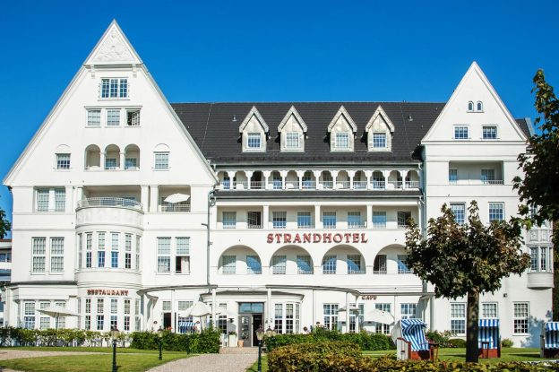 Strandhotel Glücksburg Tyskland kurophold wellnessophold